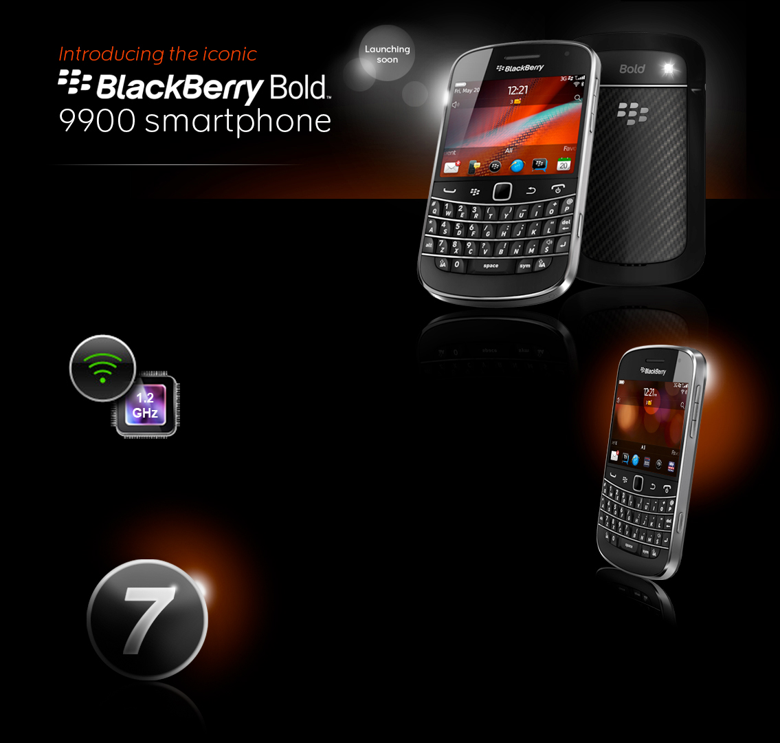 how to turn on blackberry bold 9900
